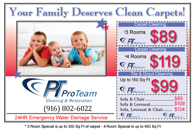 Pro Team Cleaning Coupon sacramento