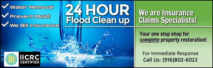 Flood cleaning Sacramento